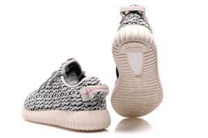 Adidas Yeezy Boost 350 Turtledove черно-белые (36-45)