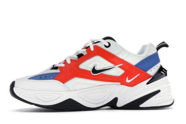 Nike m2k tekno white red blue 35-44