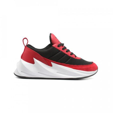 Кроссовки Adidas Sharks красные с черным (35-44)