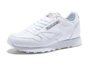 Reebok Classic leather white белые (35-45)