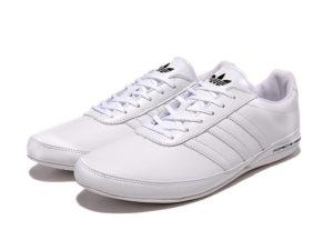 Adidas Porsche Design S3 leather white белые (40-45). Адидас порше дизайн с3