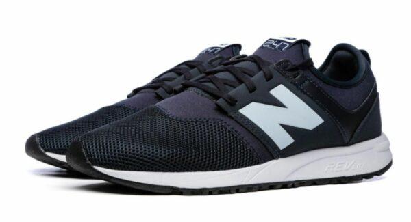 New Balance 247 черные с синим (35-44)