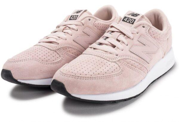 New Balance 420 светло-розовые с белым (36-40)