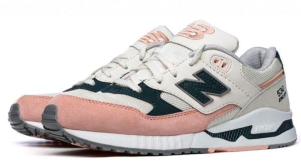 "New Balance 530 ""Tenisky"" бежевые с розовым (36-40)"