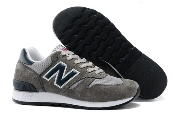New Balance 670 серые с синим (35-44)