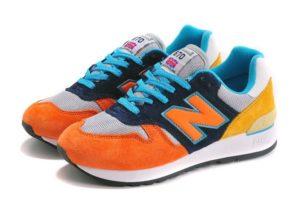 New Balance 670 оранжевый желтый с синим (35-44)