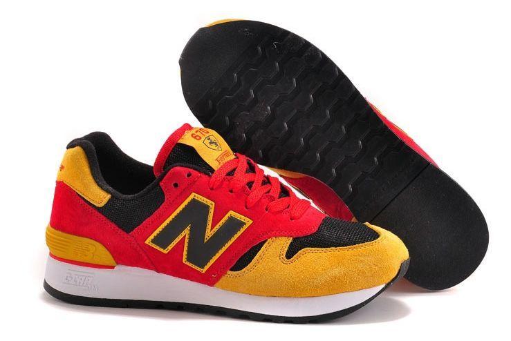 New Balance 670 красные с желтым (35-44)