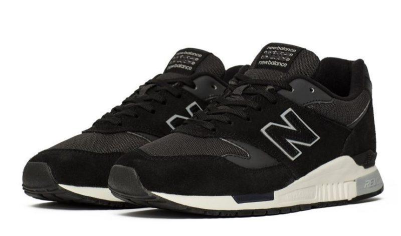 New Balance 840 черно-белые (40-43)