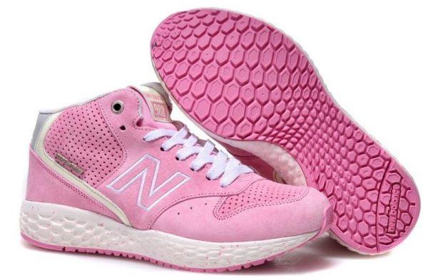New Balance 988 розовые с белым (35-38)