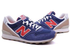 New Balance 996 фиолетовые с бежевым и красным (35-38)