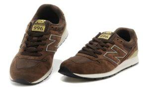 New Balance 996 коричневые с белым (39-43)