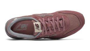 New Balance 996 бордовые с голубым и бежевым (35-38)