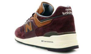 New Balance 997 бордовые (35-39)