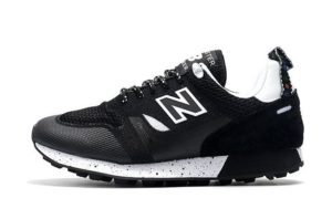 New Balance Trailbuster черные с белым (36-39)