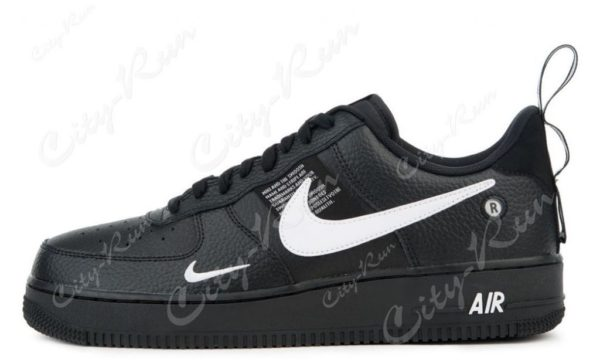 Nike Air Force 1 07 LV8 Utility черные (35-44)