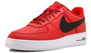 Nike Air Force 1 LV8 NBA красные с черным (35-44)