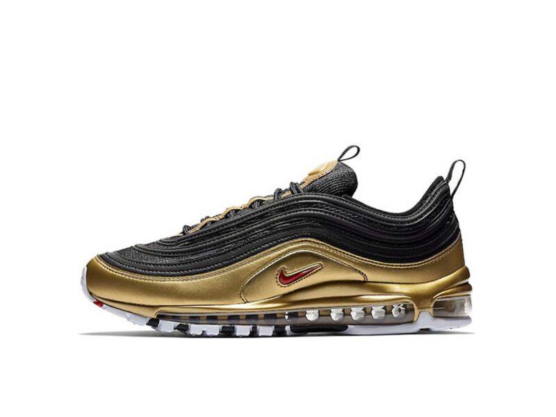 Nike Air Max 97 черно-золотые (40-44)