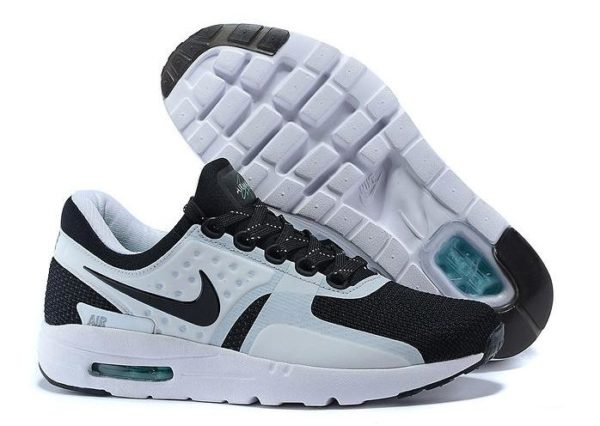 Nike Air Max Zero (Black/White) черные с белым (40-44)