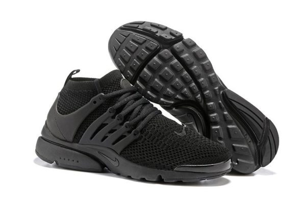 Nike Air Presto Flyknit Ultra черные (39-44)