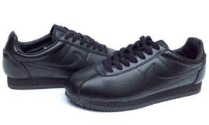 Nike Cortez черные (Black) (40-45)