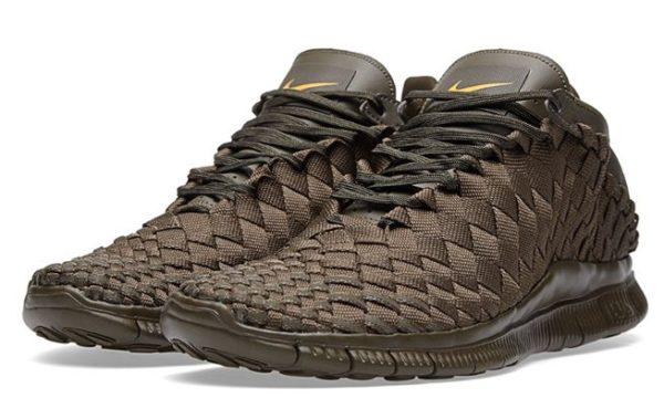 Nike Free Inneva Woven коричневые (39-43)