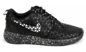 Nike Roshe Run Metric QS черные (35-45)