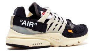 OFF-WHITE x Nike Air Presto черные (39-44)