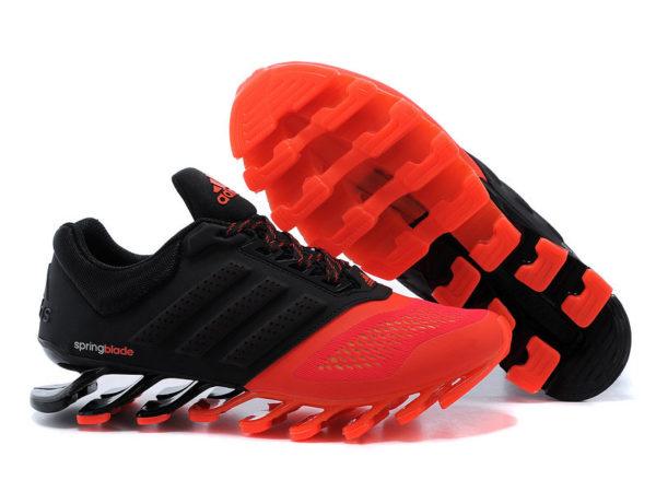 Adidas Springblade оранжево-черные (40-45)