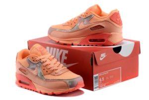 Nike Air Max 90 оранжевые (35-40)