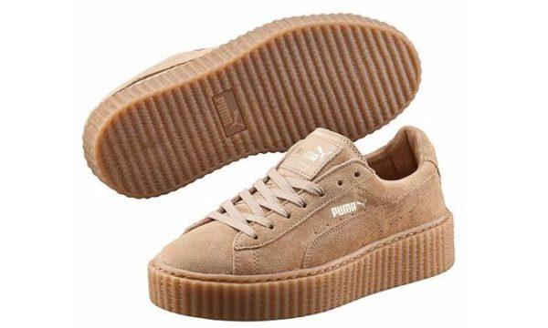 Коричневые кроссовки Puma