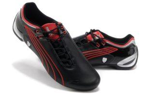 Puma Ferrari черные с красным (39-44)