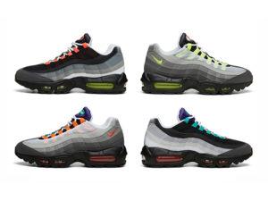 Nike Air Max 95 разноцветные (35-45)