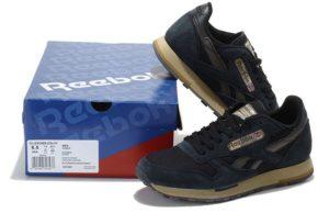 Reebok Classic Leather Utility темно-синие (39-44)