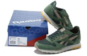 Reebok Classic Leather Utility зеленые (39-44)