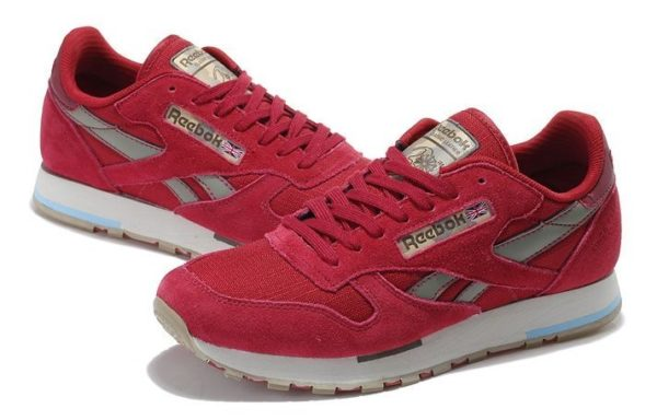Reebok Classic Leather Utility красные (39-44)