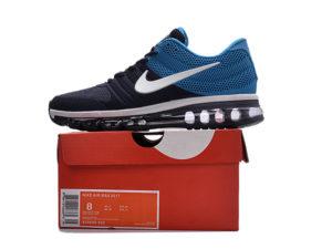 Nike Air Max 2017 темно-синие с голубым (40-45)