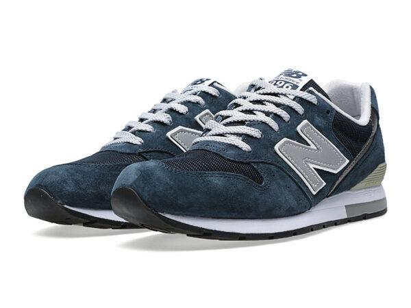 Кроссовки New Balance 996 темно-синие с серым (40-46)