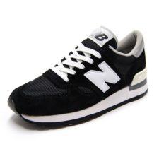 New Balance 990 замшевые черные с белым (39-43)