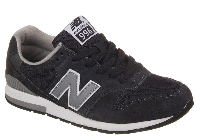 Кроссовки New Balance 996 темно-серые (39-44)