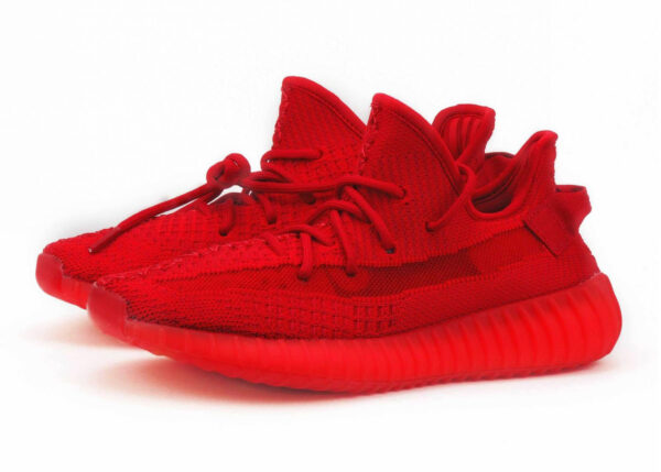 "Adidas Yeezy Boost 350 V2 Static red ""Glow"" (35-44)"