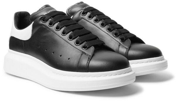 Кожаные кроссовки 36 размера