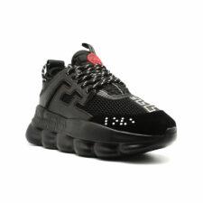 Кроссовки Versace Chain Reaction черные 35-44