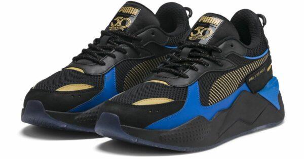Синие кроссовки Puma