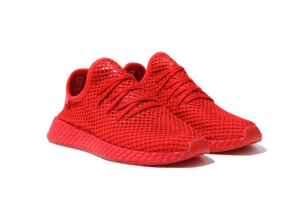 Adidas Deerupt Runner красные (40-44)