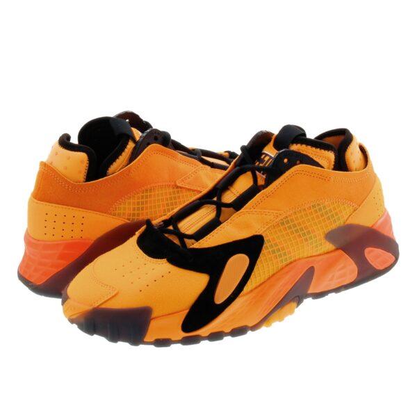 Adidas Streetball оранжевые с чёрным (40-44)