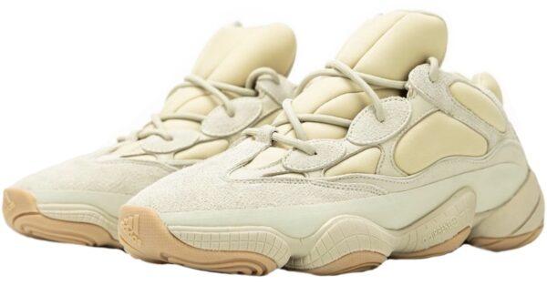 Adidas Yeezy Boost 500 Stone бежевые замшевые мужские-женские (37-44)