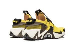Nike Adapt Huarache желтые с черным (40-44)