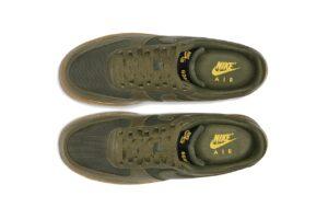 Nike Air Force 1 Low Gore-Tex зеленые (40-44)