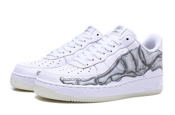 Nike Air Force 1 07 LV8 белые-скелет (35-44)