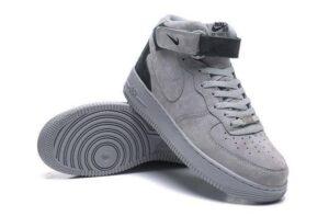 Nike Air Force 1 Mid серые (40-44)